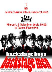 """""""Backstage Men"""" cu Backstage Boys"""