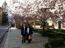 Andrei si Elena Bucurescu la Cambridge
