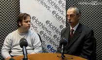 Bogdan Manolea (APTI) si Gheorghe Serban (ANISP)