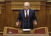 Papandreou, in fata parlamentului grec