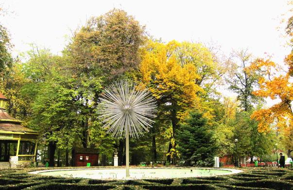 Toamna-n parc la Botosani