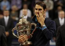 Federer, din nou fericit