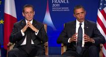 Nicolas Sarkozy si Barack Obama