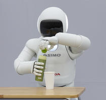 Robotelul Asimo al Honda