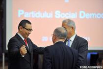 Ponta le arata lui Iliescu si Nastase cine e seful in PSD