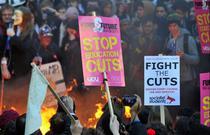 Protestul studentilor si elevilor din noiembrie 2010