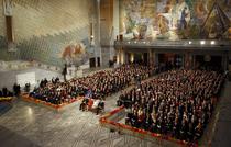 Ceremonia de decernare a premiilor Nobel pentru Pace 2011, din Oslo