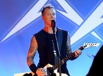 James Hetfield la 30 de ani de Metallica