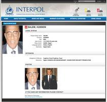 Hussein Salem, urmarit de Interpol