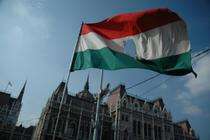 Steagul Ungariei, folosit de demonstranti anti-guvernamentali