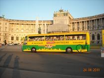 Viena - statia Hofburg