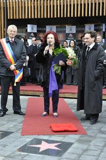 Stela Popescu pe Walk Of Fame