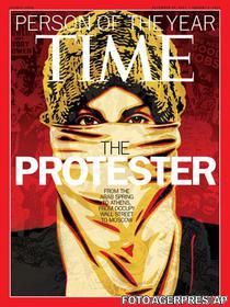Protestatarul - omul anului desemnat de Time
