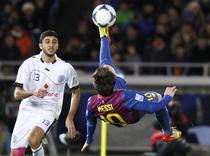 Messi, executie acrobatica contra celor de la Al-Sadd