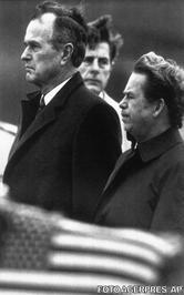 Vaclav Havel si George Bush