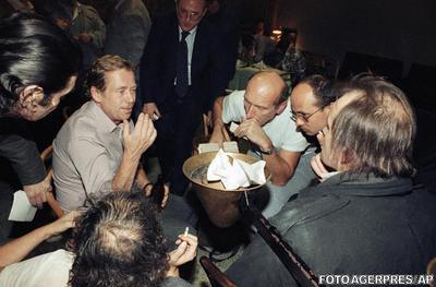 Vaclav Havel, in 1989