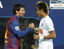 Messi si Neymar, dupa finala de la Yokohama