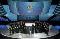 Tragere la sorti pentru Euro 2012, in Palatul Artelor din Kiev