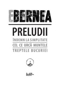 Ernest Bernea-Preludii coperta