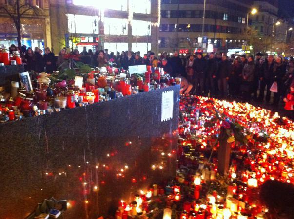 La revedere, Vaclav Havel