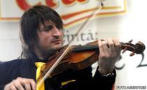 Edvin Marton, in Bucuresti pentru spectacolul Kings on Ice (2008)