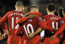 United, demonstratie de fotbal pe terenul lui Fulham