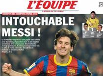 Lionel Messi, numarul unu in 2011