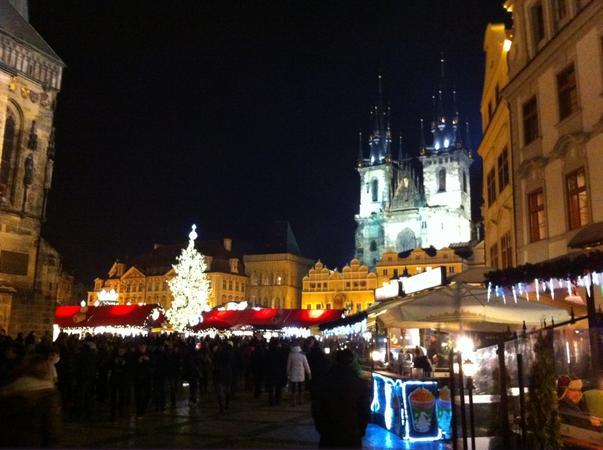 Craciunul la Praga