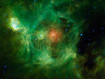 Nebuloasa in forma de ghirlanda