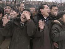 Isterie la inmormantarea lui Kim Jong-il