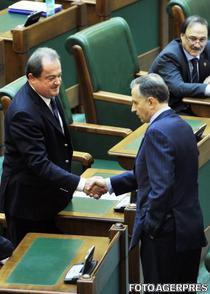 Vasile Blaga si Mircea Geoana
