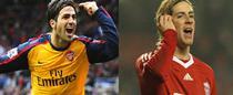 Cesc Fabregas si Fernando Torres