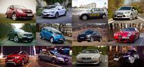 Cateva dintre masinile testate de 0-100.ro in 2011