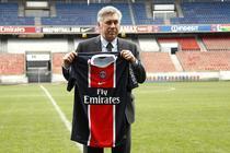 Carlo Ancelotti, prezentat oficial la Paris