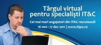 Targ virtual pentru specialisti IT&C