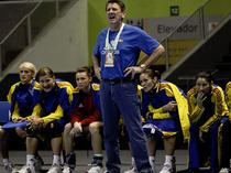 Radu Voina, antrenor Romania