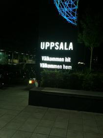 Uppsala - Bine ai venit aici, bine ai venit acasa!