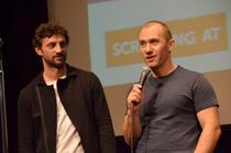 Andi Vasluianu si Radu Muntean (foto Godlis)