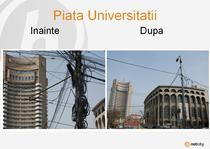 Piata Universitatii, inainte si dupa NetCity