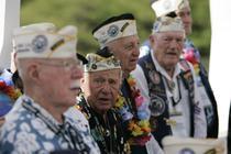 Veterani americani, in Honolulu