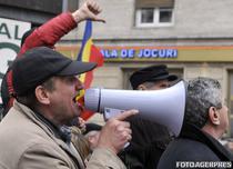 Protestul revolutionarilor pentru certificate