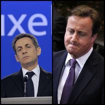 Nicolas Sarkozy si David Cameron