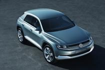 Volkswagen Cross Coupe Concept 2011
