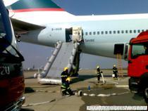 Avionul Boeing 747, evacuat