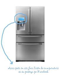 Acces la Facebook de pe usa frigiderului