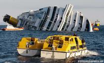 Pachebotul Costa Concordia, naufragiat