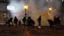 Proteste in Bucuresti, 15 ianuarie 2012