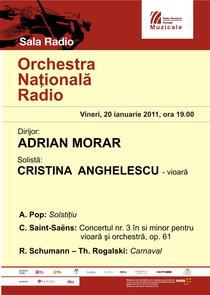 Afis concert ONR
