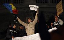 Proteste in Piata Universitatii, 16 ianuarie