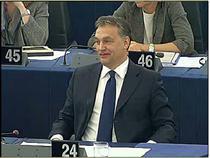 Viktor Orban in Parlamentul European